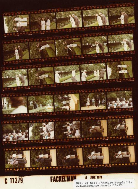 Rosalynn Carter - Mature People, Fr. 8-22; Landscape Awards, Fr. 25-37