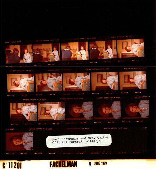 Rosalynn Carter - Official Portrait with Karl Schumaker