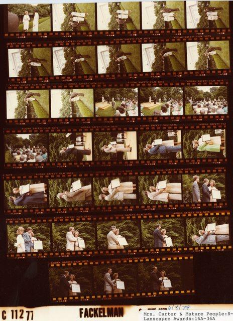 Rosalynn Carter - With Mature People, Fr. 8-22; Landscape Awards, Fr. 16A-36A