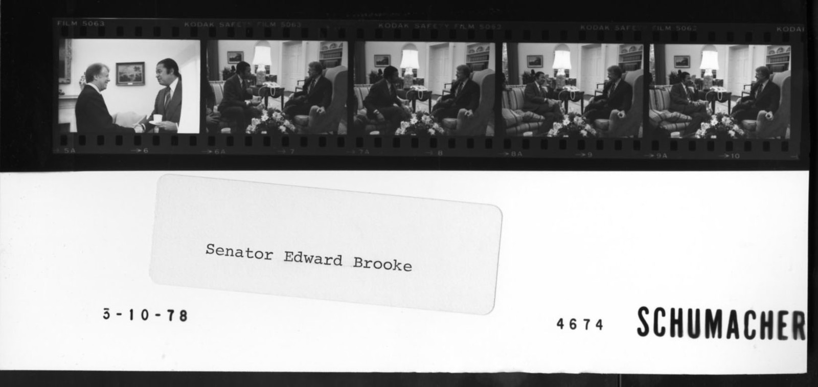 Senator Edward Brooke