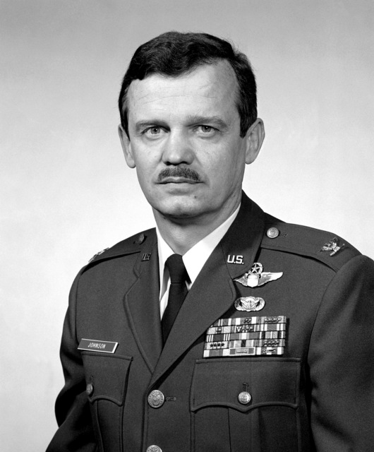 COL Carl B. Johnson, USAF (uncovered)