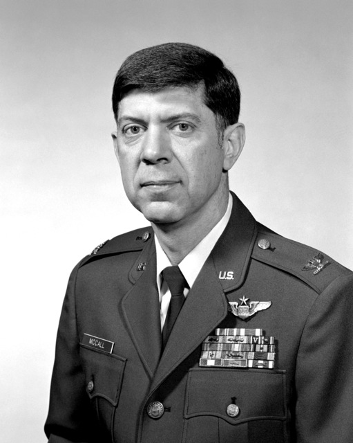 COL Edward D. McCall, USAF (uncovered)