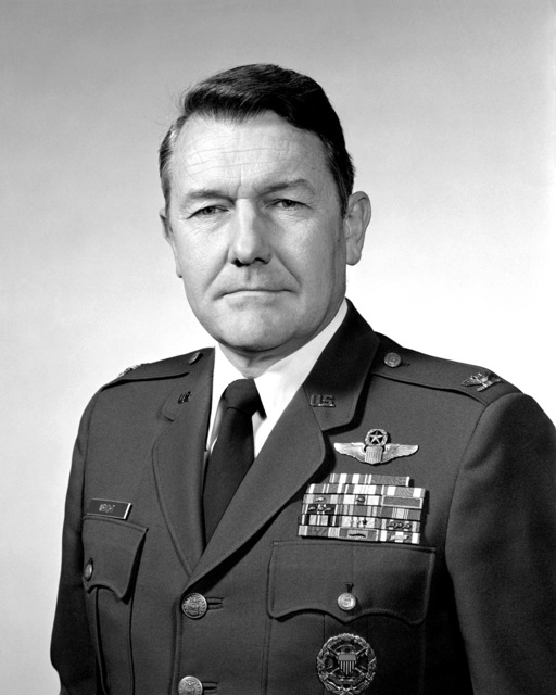 COL Larry D. Wright, USAF (uncovered)