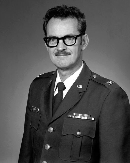 COL Richard W. Long, USAF (uncovered)