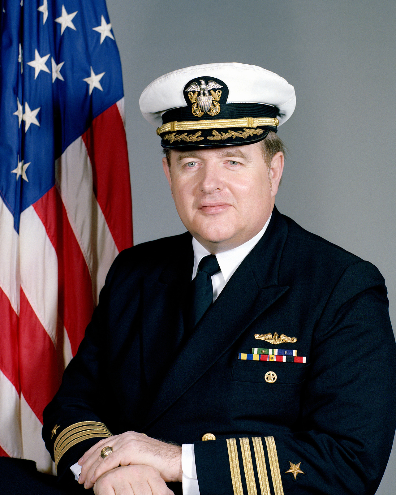 CAPT Noel T. Wood, USN (covered)
