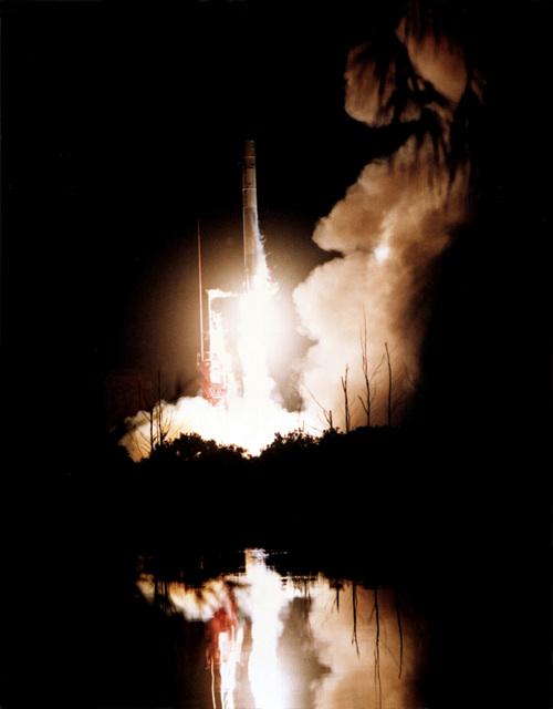 Atlas missile launch