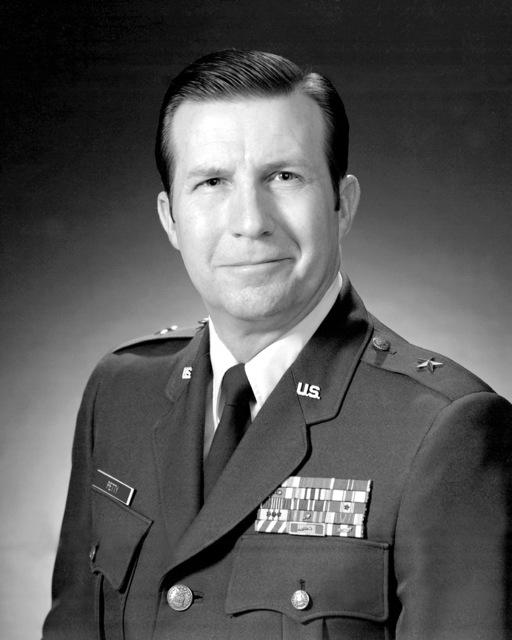 BGEN Robert O. PETTY, USAF