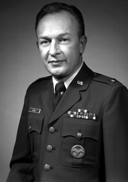 COL Cletus B. Kuhla, USAF (uncovered)