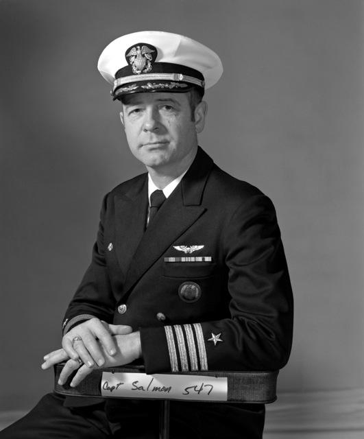 CAPT Wayne S. Salmon, USNR (Ret.) (covered)
