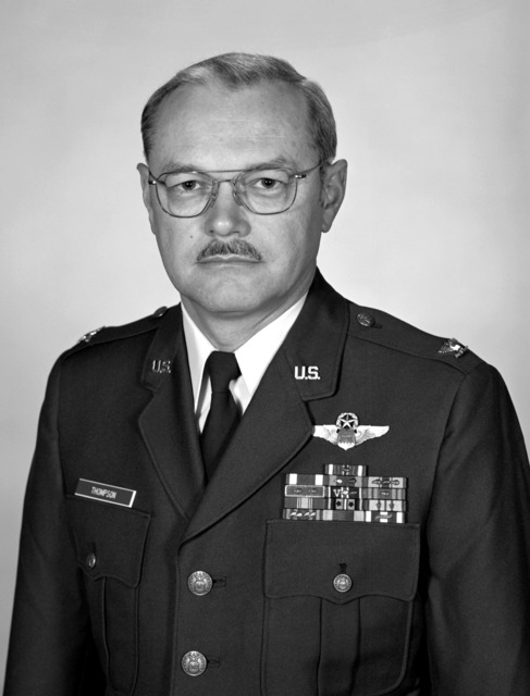 COL Richard L. Thompson, USAF (uncovered)