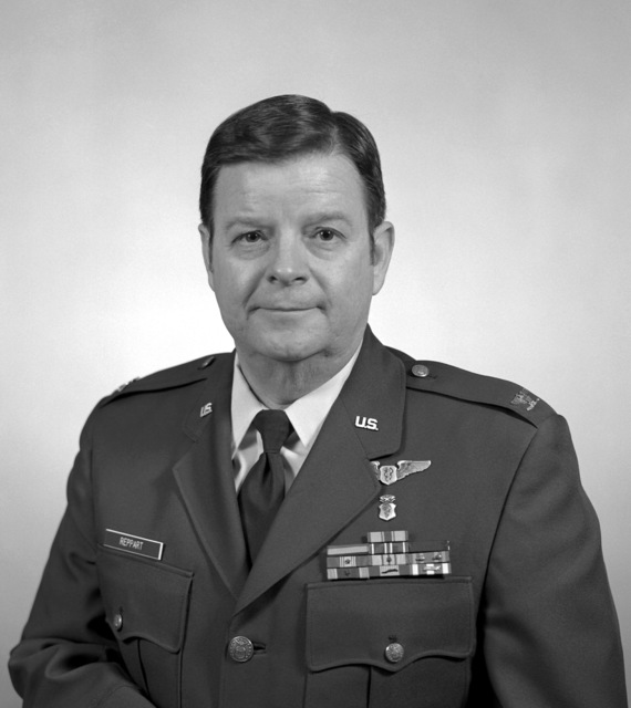 COL John T. Reppart, USAF (uncovered)