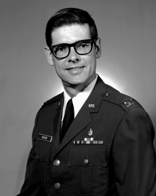 COL Harold P. Olesen, USAF (uncovered)