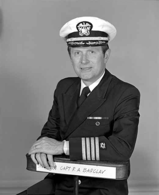 CAPT Robert A. Barclay, USNR (Ret.) (covered)
