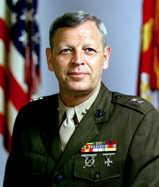 MGEN John B. Hirt, USMC (uncovered)