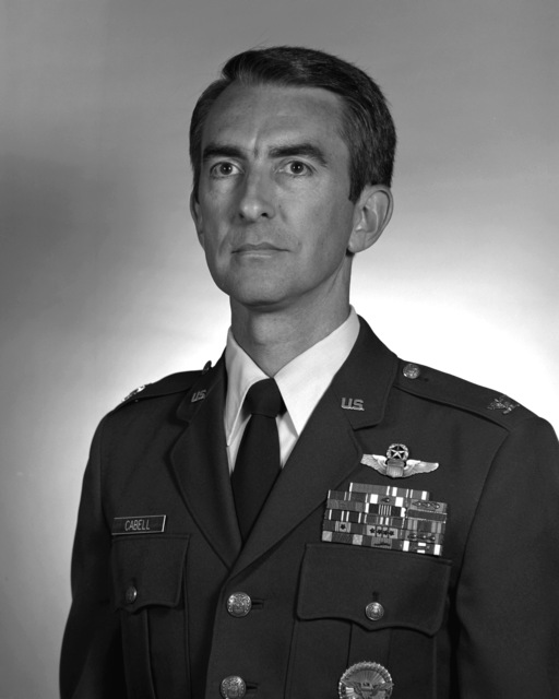 COL Charles P. Cabell, Jr., USAF (uncovered)