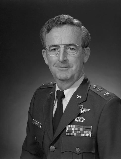 MGEN Robert F. McCarthy, USAF