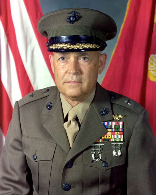 BGEN Lloyd W. Smith Jr., USMC (covered)
