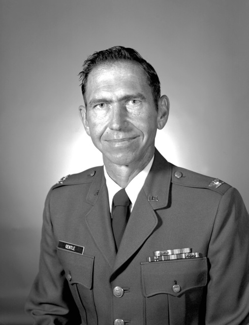 COL Milton W. Gentle, USAF (uncovered)