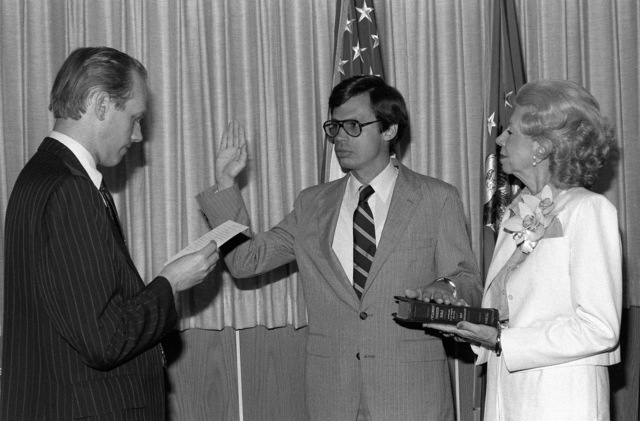 Tidal McCoy is sworn in as an assistant secretary of the Air Force