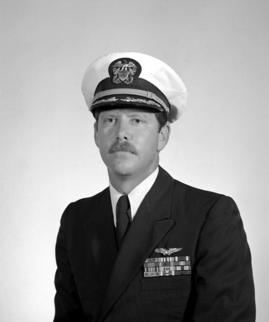 CDR Dudley C. Bouek, USN (covered)