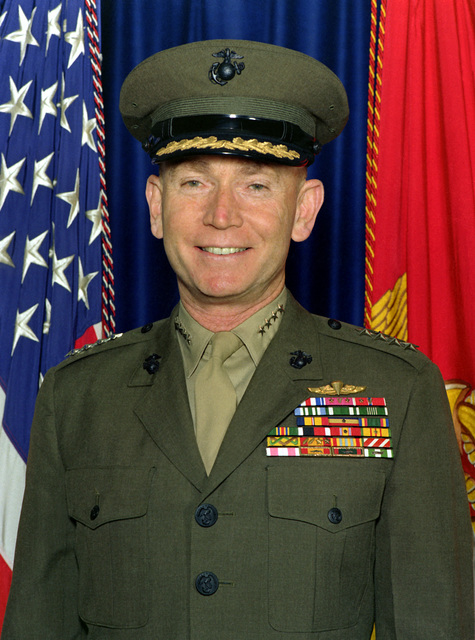 GEN. P. X. Kelley, USMC (covered)