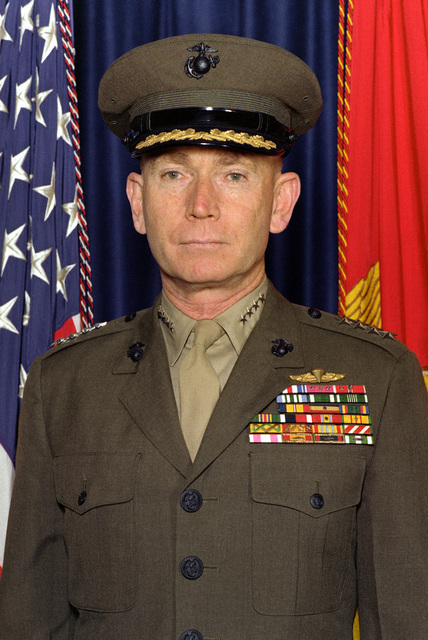 GEN P. X. Kelley, USMC (covered)