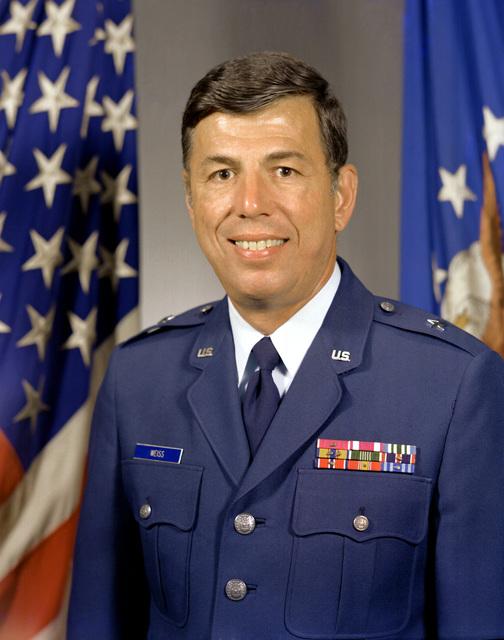 BGEN Bernald L. Weiss, USAF (uncovered)