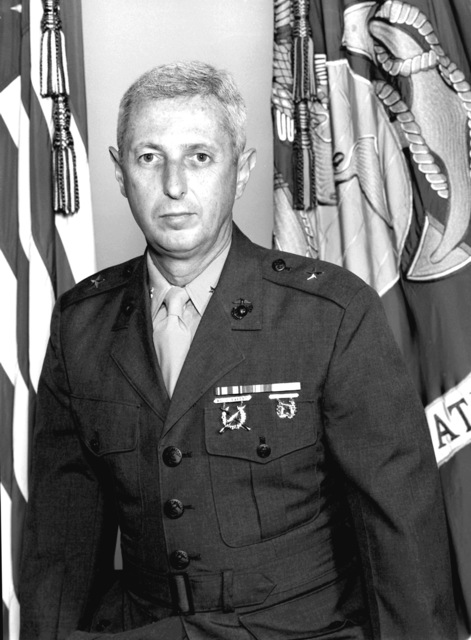 BGEN John L. Salesses, USMC (uncovered)