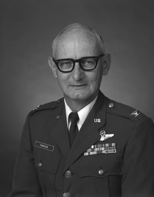 COL James C. Ranson, USAF (uncovered)
