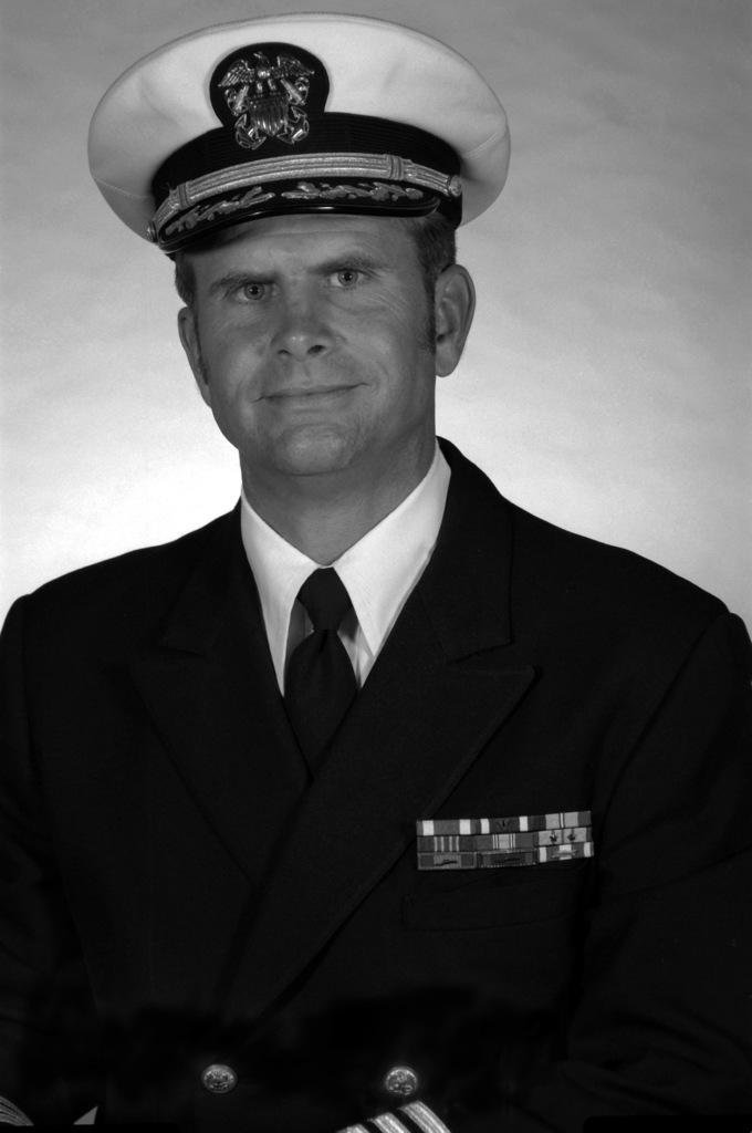 CDR Robert L. Moeller, USN (covered)