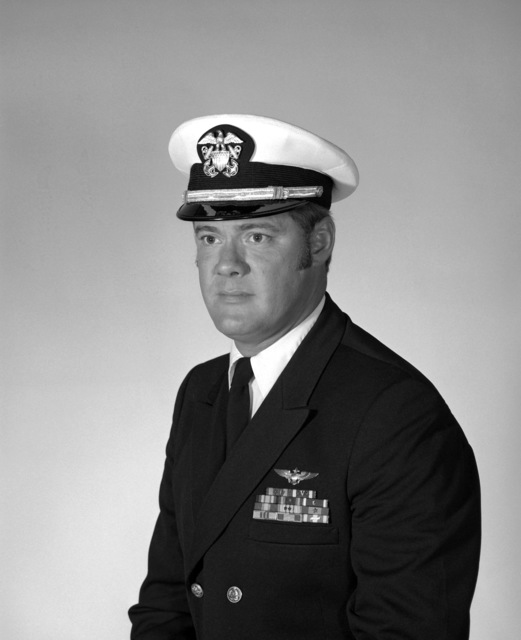 CDR Nicholas R. Criss, USN (covered)