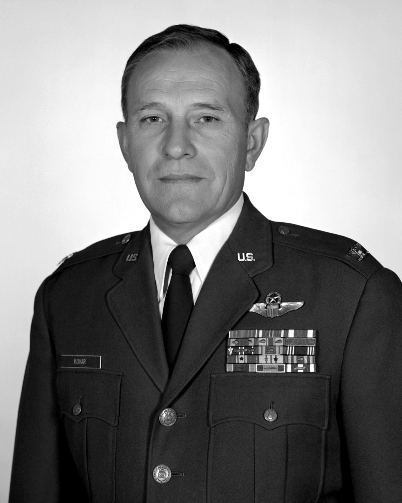 COL Otto L. Kovar, USAF (uncovered)