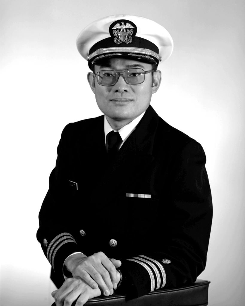 CDR Steven Y. Kumamoto, USN (covered)