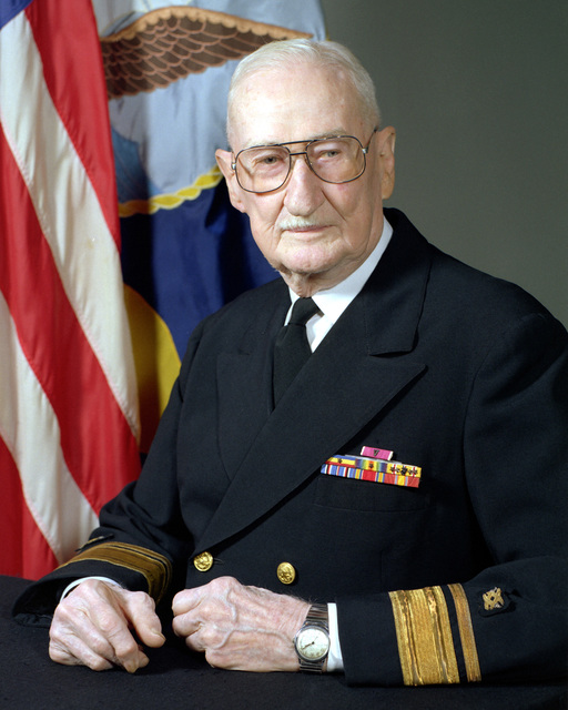 RADM Lawrence E. Tull, USN (uncovered)