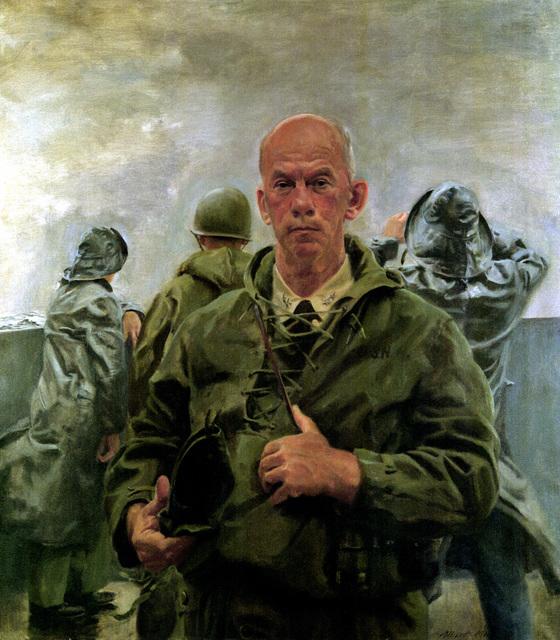 "Artwork: ""VADM Charles H. McMorris"" Artist: Albert K. Murray Navy Combat Art Center, Washington Navy Yard"