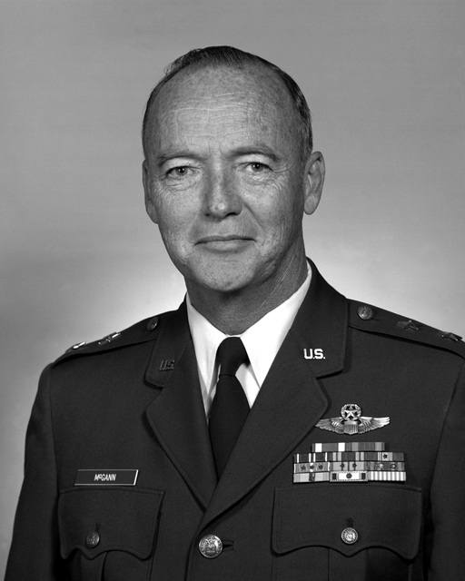 MGEN S. T. Ayers, USAF (uncovered)