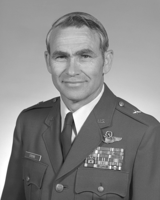 BGEN Richard E. Steere, USAF (uncovered)