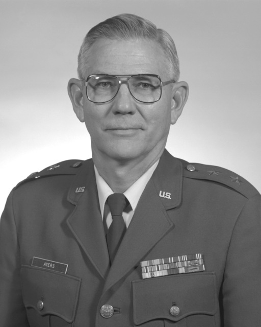 MGEN Donald A. McGann, USAF (uncovered)