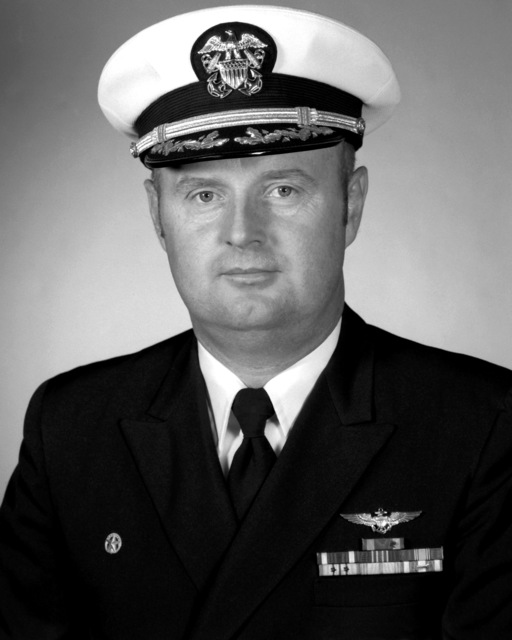 CDR Kenneth G. Lyons, USN (covered)
