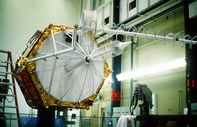 A view of the Fleet Satellite Communications satellite