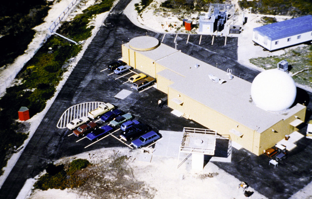 Aerial view of the Global Positioning System monitor control station