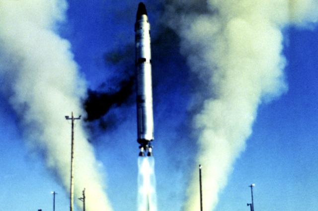 Launch of a Titan II standard launch vehicle 5