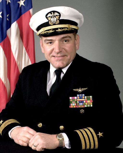 CAPT Gerald H. Hesse, USN (covered)