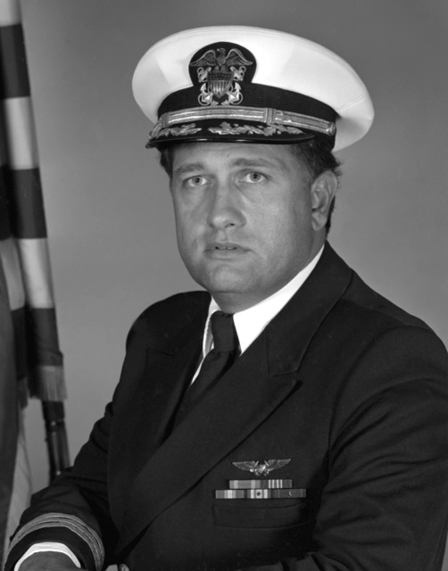 CDR Ken R. Guarino, USN (covered)