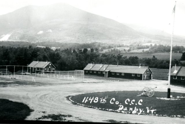 1148th CCC [Civilian Conservation Corps] Mountainside View