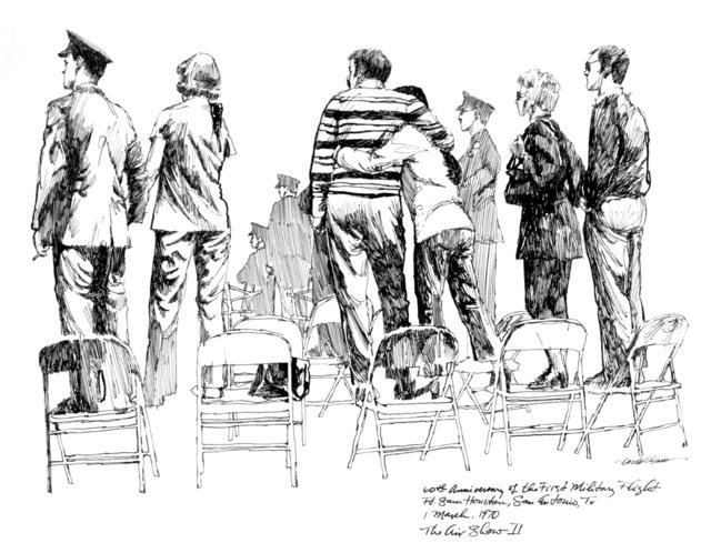 "Artwork: ""Airshow 2"" Artist: Charles Shaw"