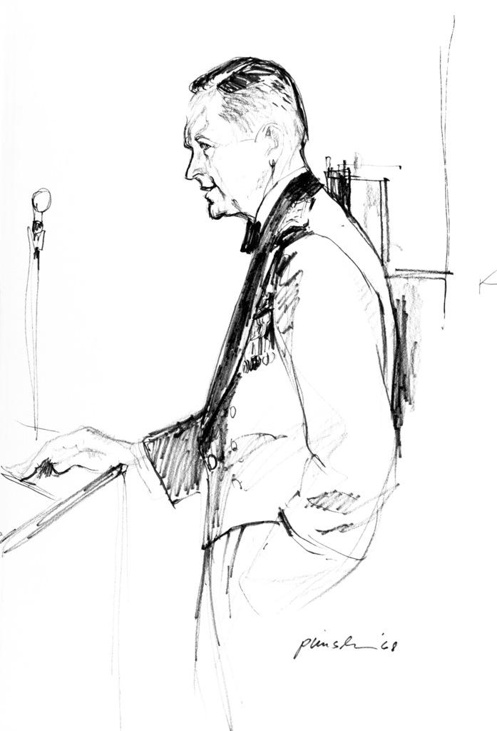 """Artwork: """"Art Presentation - 1968"""" Artist: Alvin Pimsler"""