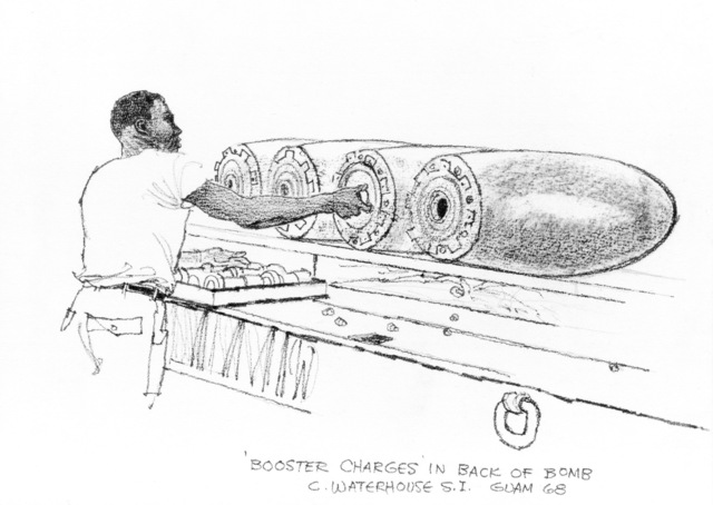 """Artwork: """"Booster Charges"""", Artist: Charles Waterhouse"""