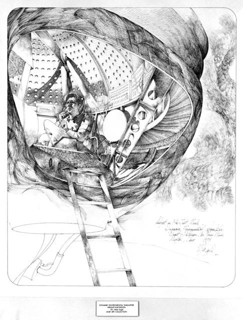 "Artwork: ""Dynamic Environmental Simulator, Wright-Patterson"" Artist: Mike Eagle"