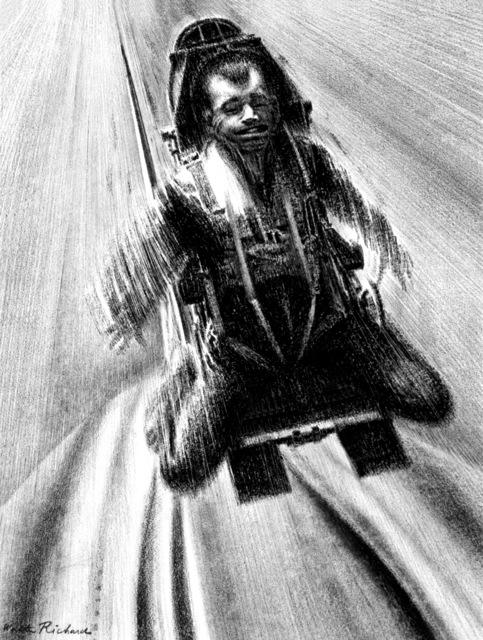 "Artwork: ""Supersonic Bailout"" Artist: Walter Richards"